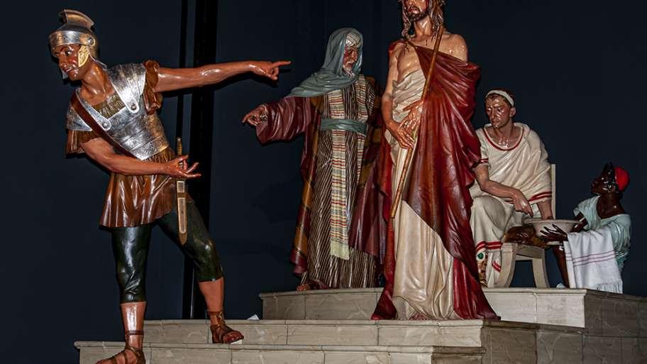 UN RESUMEN DE LA PASIÓN DE JESÚS